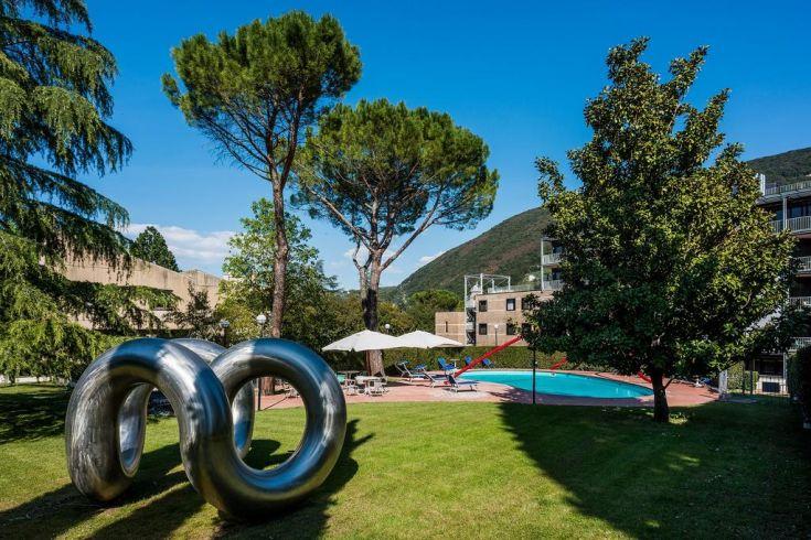 Albornoz Palace Hotel 4 stelle a Spoleto con Piscina esterna