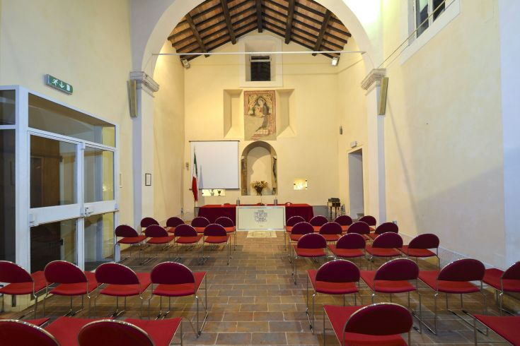Sala ex Chiesa di San Benedetto - Hotel Fonte Cesia - Meeting room, wedding