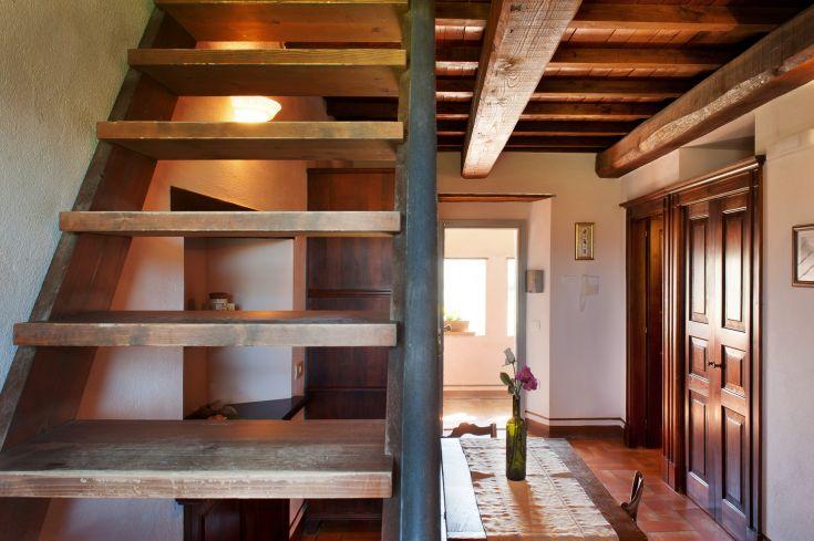 Appartamento da 2 a 4 persone / su due piani / cucina-soggiorno con divano e bagno al piano inferiore / soppalco con letto matrimoniale e 1 letto singolo al piano superiore