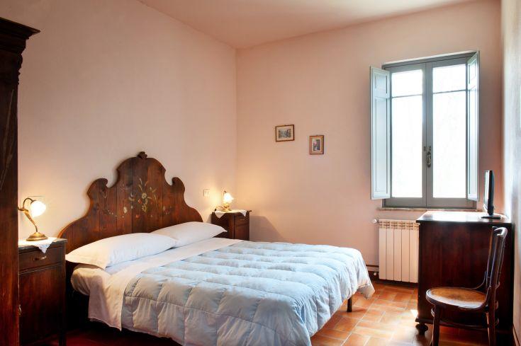 Camera con letto matrimoniale e bagno / possibilità di fare due lettini singoli