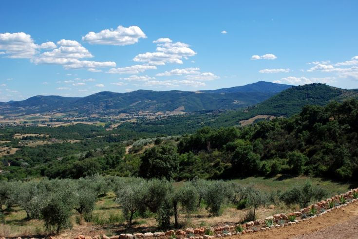 View from Farmhouse Fontanelle
