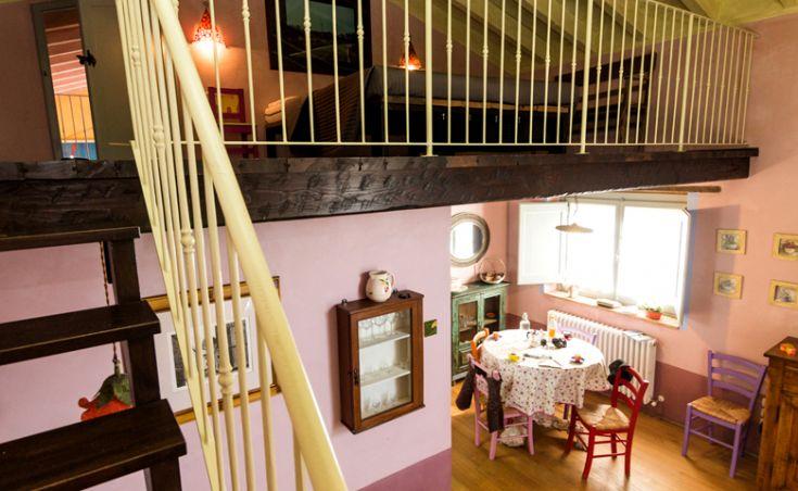 Appartamento L'Ulivo, ampia sala e soppalco
