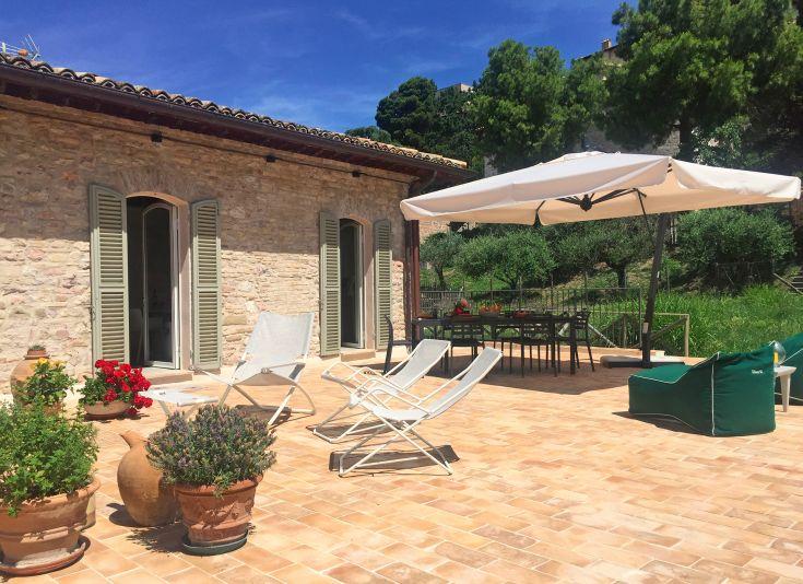 Assisi Al Quattro casa vacanze con terrazza panoramica e parcheggio privato Umbria Italy